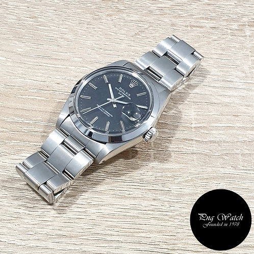 Rolex Oyster Perpetual Matte Black (Spotted) Date REF: 1500 (3.94)(2)