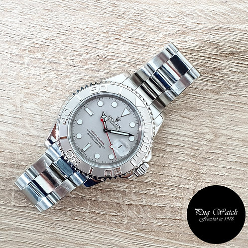 Rolex Oyster Perpetual Platinium 40mm Yachtmaster REF: 16622 (2)