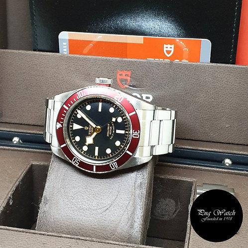 Tudor 41mm Rose Black Bay Burgundy REF: 79220R (2012)
