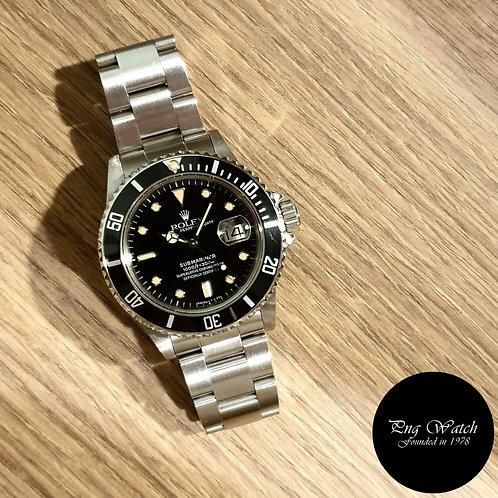 Rolex Oyster Perpetual Tritium Submariner Date REF: 16800 (8.51)(2)