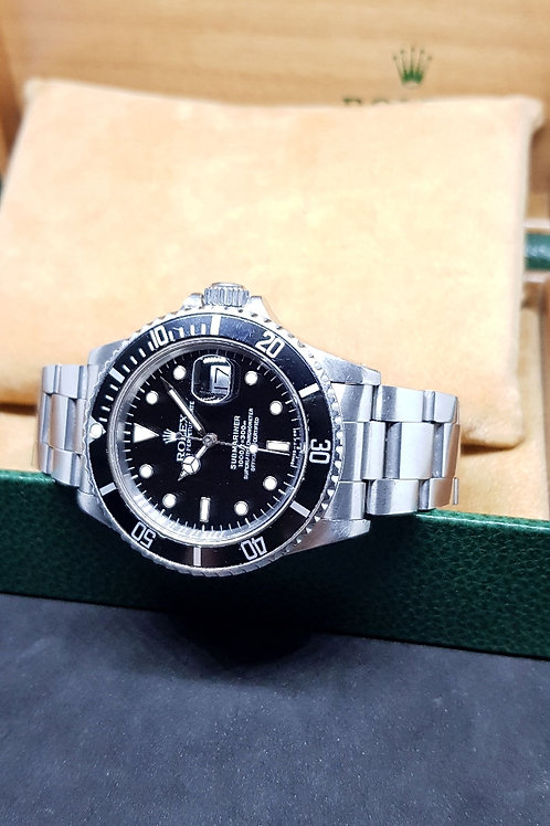 Rolex Oyster Perpetual Date Submariner REF: 168000