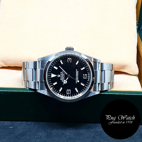 Rolex Oyster Perpetual 36mm Black Explorer One REF: 114270