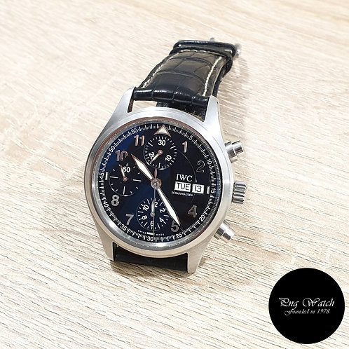 IWC Black Arabic Spitfire Flieger Chronograph REF: 370613 (2)