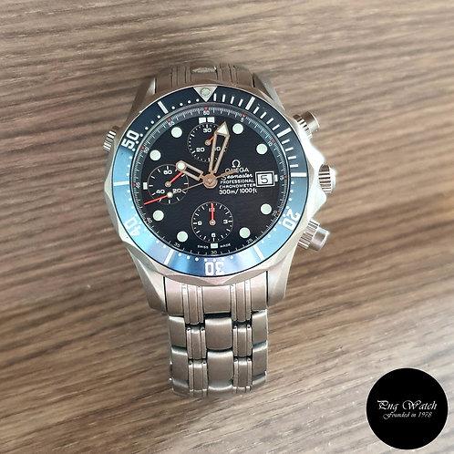 Omega Seamaster Blue Titanium Chronograph REF: 2298.80.00 (2)