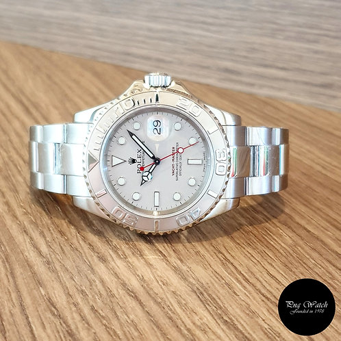Rolex Oyster Perpetual Platinium Yachtmaster REF: 16622 (A Series)(2)