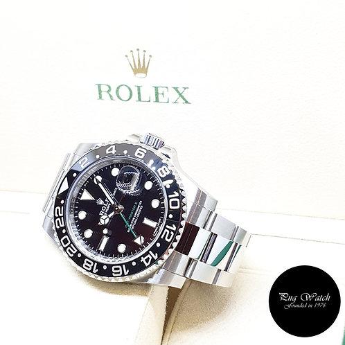 Rolex Black Ceramic Discontinued GMT Master 2 REF: 116710LN (2019)