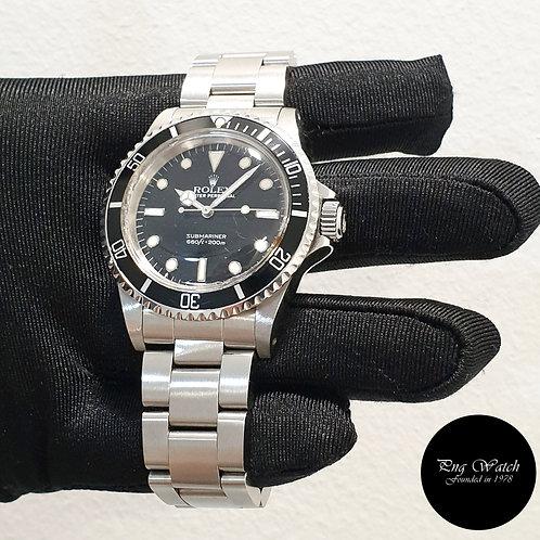 Rolex Oyster Perpetual Tritium Steel No Date Black Submariner REF: 5513 (2)