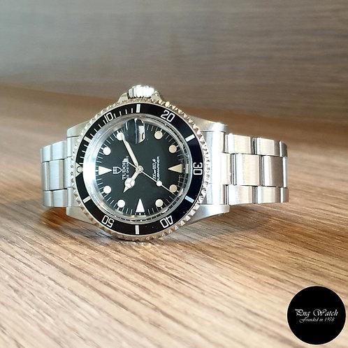 Tudor Matte Black Prince Oysterdate Submariner REF: 76100 (By Rolex)(2)