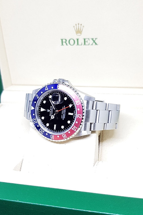 """Rolex """"Stick Dial"""" Pepsi GMT Master 2 REF: 16710"""