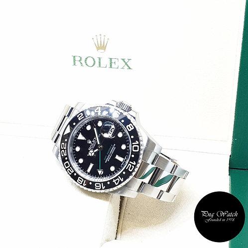 Rolex Oyster Perpetual Ceramic Black GMT Master 2 REF: 116710LN (2016)