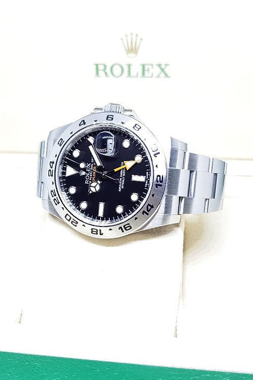 Rolex Oyster Perpetual 42mm Black Explorer 2 REF: 216570