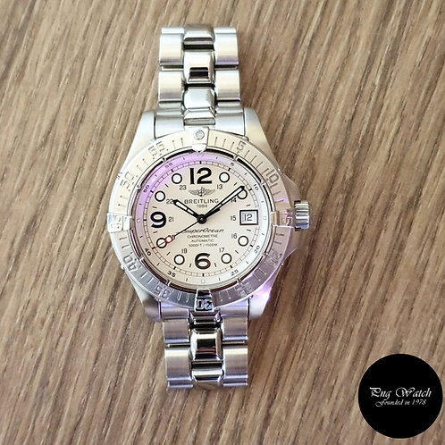 Breitling Superocean 1st Generation White Diver's Watch (2)