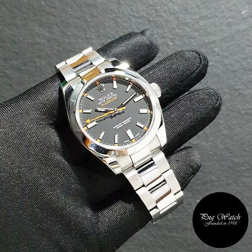 Rolex Oyster Perpetual Black Milgauss REF: 116400 (V)(2)