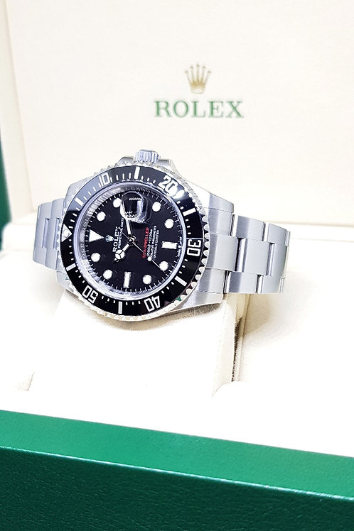 Rolex Oyster Perpetual Ceramic 43mm Sea Dweller Red REF: 126600