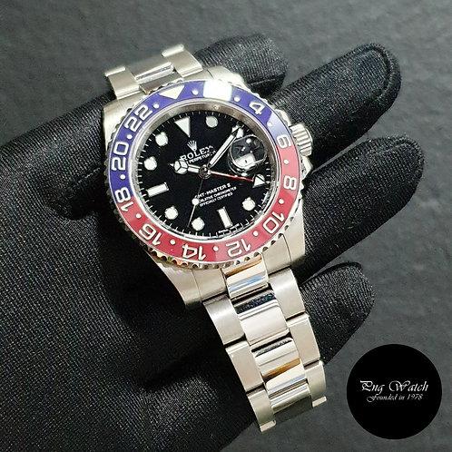 "Rolex 40mm 18K Full White Gold Ceramic ""PEPSI"" GMT Master 2 REF 116719BLRO (2)"