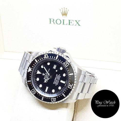 "Rolex Oyster Perpetual 44mm Sea Dweller ""DEEPSEA"" Black REF: 126660 (2020)"