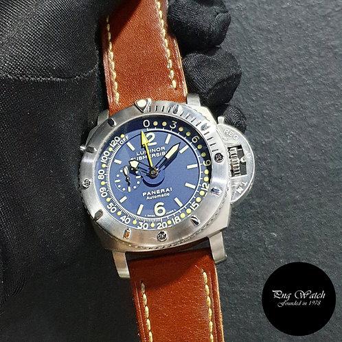 "Panerai Blue Depth Gauge ""Mike Horn"" 47mm Luminor Submersible PAM 307 (2)"