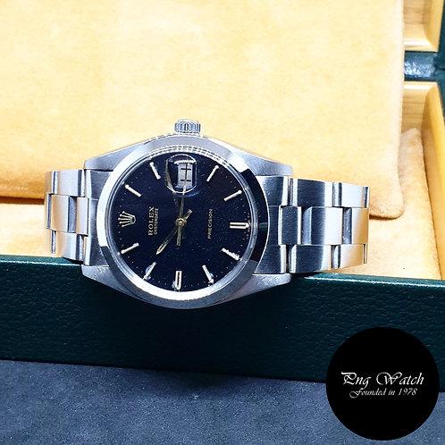 Rolex Gloss Black Precision Oysterdate REF: 6694