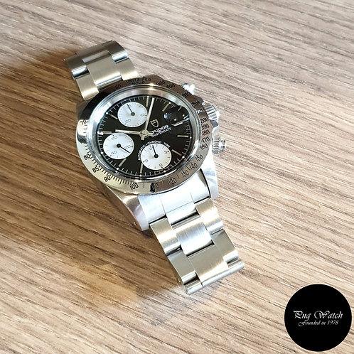 "Vintage Tudor Prince Oysterdate ""Big Block"" Chronograph REF: 79180 (By Rolex)(2)"
