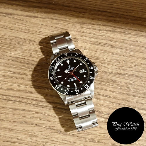 Rolex Oyster Perpetual Black GMT Master REF: 16750 (2)