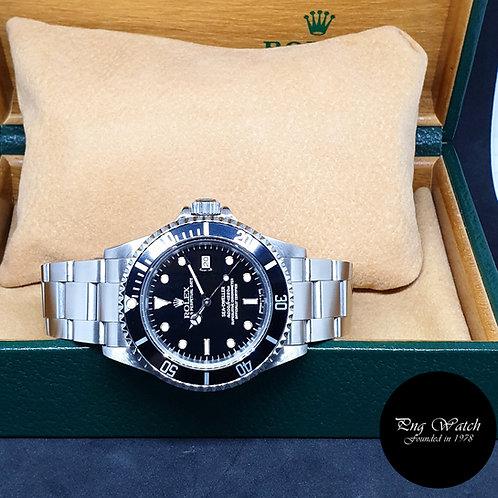 Rolex Oyster Perpetual Black Tritium Sea Dweller REF: 16600 (T Series)