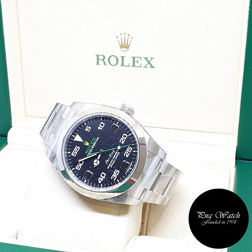 Rolex Oyster Perpetual 40mm Black Air-King REF: 116900 (2021)