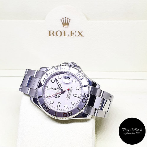 Rolex Oyster Perpetual 35mm Yachtmaster REF: 168622