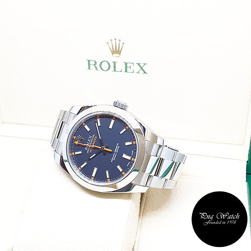 Rolex Oyster Perpetual Black Milgauss REF: 116400 (V Series)
