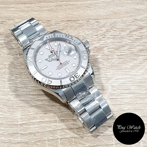 Rolex Oyster Perpetual Date 40mm Platinium Yachtmaster REF: 16622 (2)