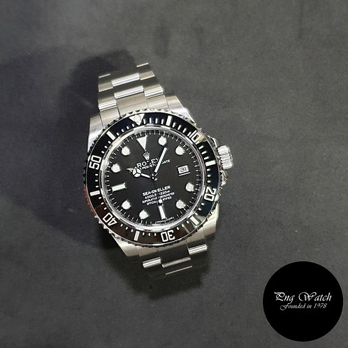 Rolex Ceramic Black Sea Dweller 4000 REF: 116600 (AN)(2)