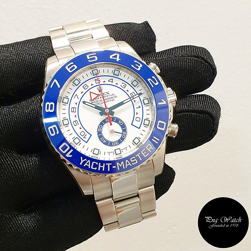 Rolex Oyster Perpetual 44mm Steel Yachtmaster II REF: 116680 (2)