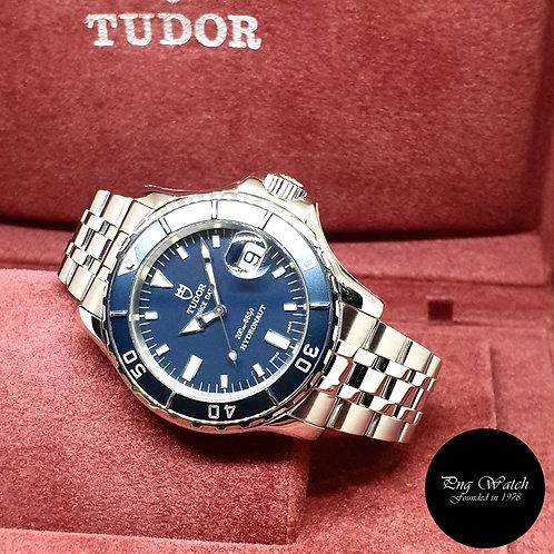 Tudor 40mm Blue Prince Date 200M Hydronaut REF: 89190