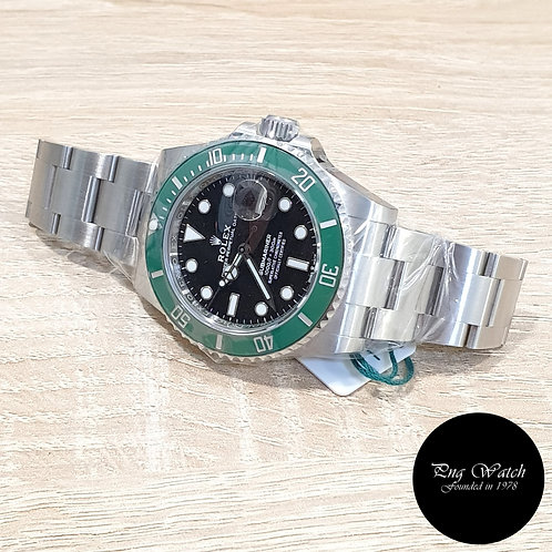 """Rolex OP """"KERMIT"""" Submariner Date REF: 126610LV (2)"""
