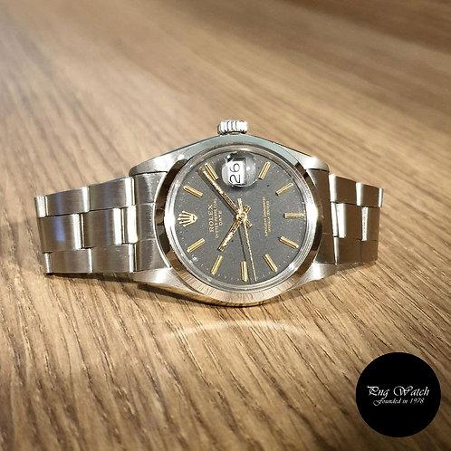 Rolex Oyster Perpetual Matte Black Date REF: 1500 (2)