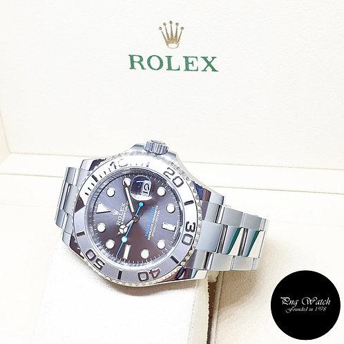Rolex Oyster Perpetual 40mm Dark Rhodium Yachtmaster REF: 116622 (AN Series)
