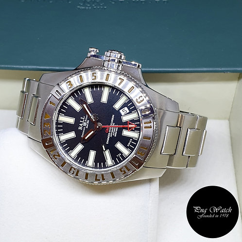 Ball Engineer Hydrocarbon GMT Black Automatic Watch REF: DG1016A