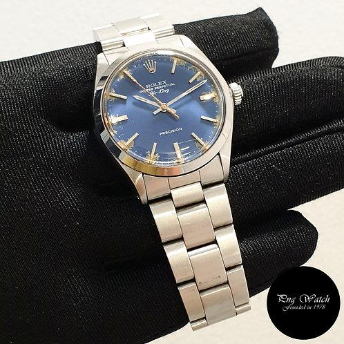 Rolex Oyster Perpetual 34mm Tritium Blue Air-King REF: 5500 (2)