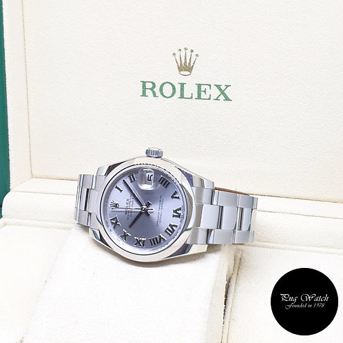 Rolex Oyster Perpetual 31mm Rhodium Datejust REF: 178240 (2019)