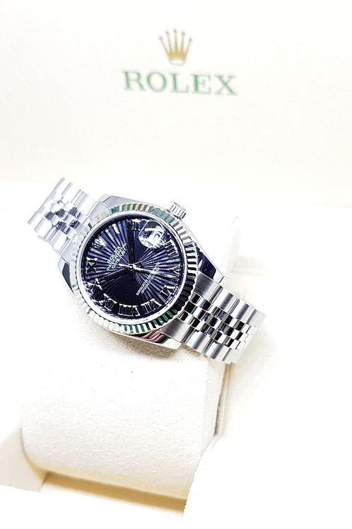 Rolex Oyster Perpetual Black Sunbeam Datejust REF: 178274