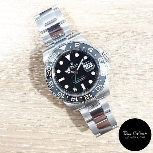 Rolex Oyster Perpetual Black Ceramic GMT Master 2 REF: 116710LN (2)