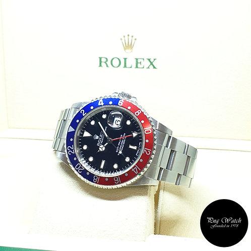 "Rolex Oyster Perpetual Date Tritium ""PEPSI"" GMT Master REF: 16700 (T Series)"