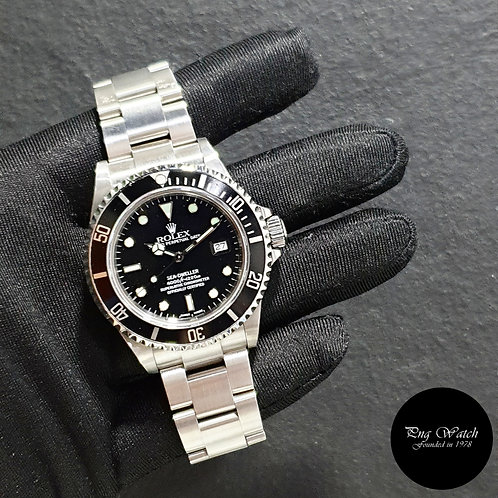 Rolex Oyster Perpetual Black Sea Dweller REF: 16600 (K Series)(2)