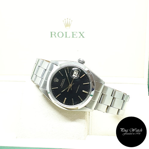 Rolex Oysterdate Precision Black Indexes (Rivet Bracelet) REF: 6694 (Full Set)