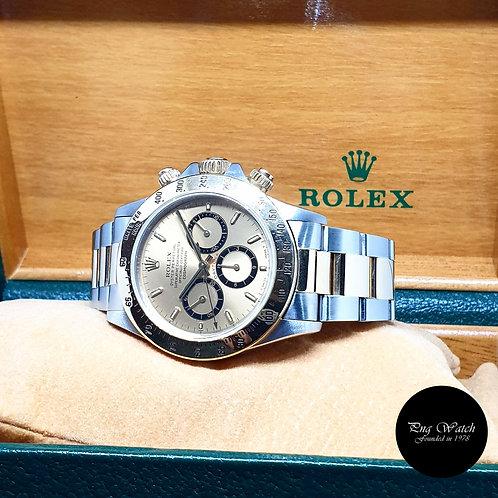 """Rolex 18K Half YG Zenith Mvt """"Inverted 6"""" Champagne Indexes Daytona REF: 16523"""