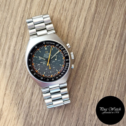 Vintage Omega Grey Mark 2 Speedmaster Chronograph REF: 145.014 (2)