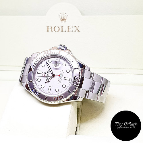 Rolex Oyster Perpetual Platinium 40mm Yachtmaster REF: 16622 (Z Series)
