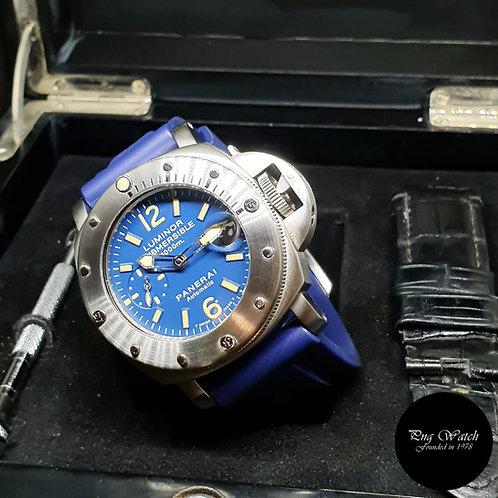 """Panerai Tritium 1000M Luminor Submersible """"LA BOMBA"""" Automatic Watch PAM 87"""