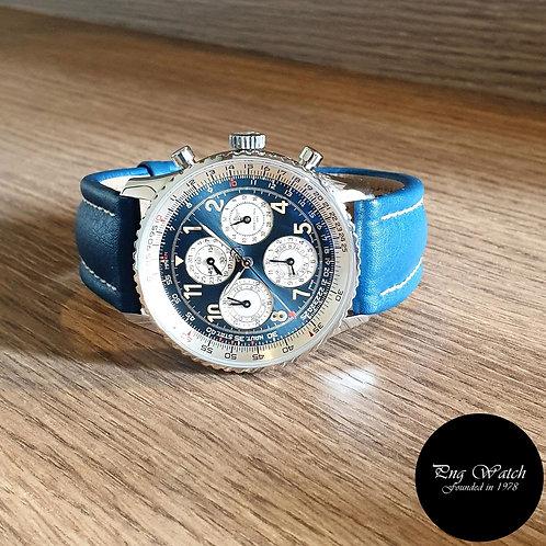 L.E Breitling Blue Navitimer 1461/52 Chronograph Watch REF: A38022 (2)