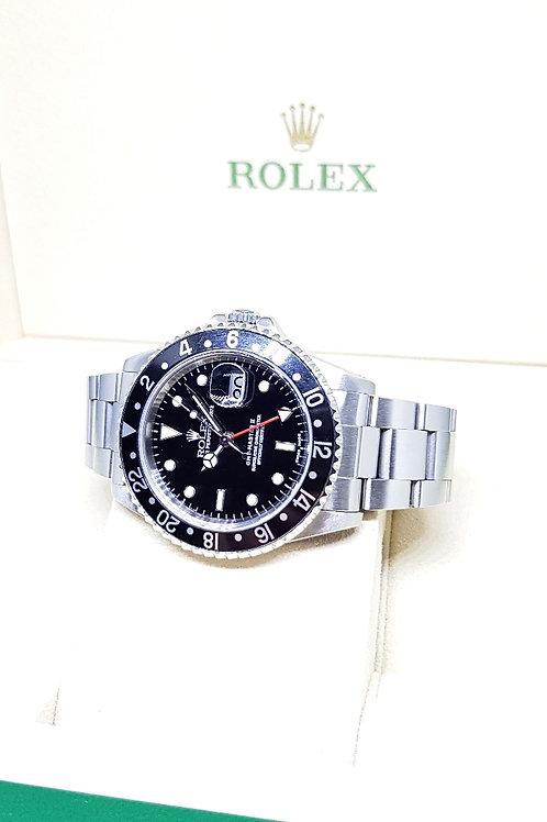 """Rolex """"Black Knight"""" GMT Master 2 REF: 16710"""