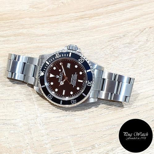 Rolex Oyster Perpetual Black Tritium Sea Dweller REF: 16600 (T)(2)
